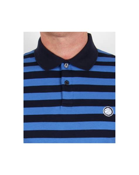 Poloshirt Stripe Navy pretty green block stripe polo shirt navy royal blue pretty green stripe polo