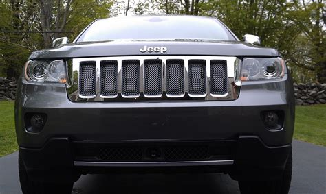 Jeep Grand Grill Inserts Jeep Grand Chrome Mesh Grill Inserts For 2011