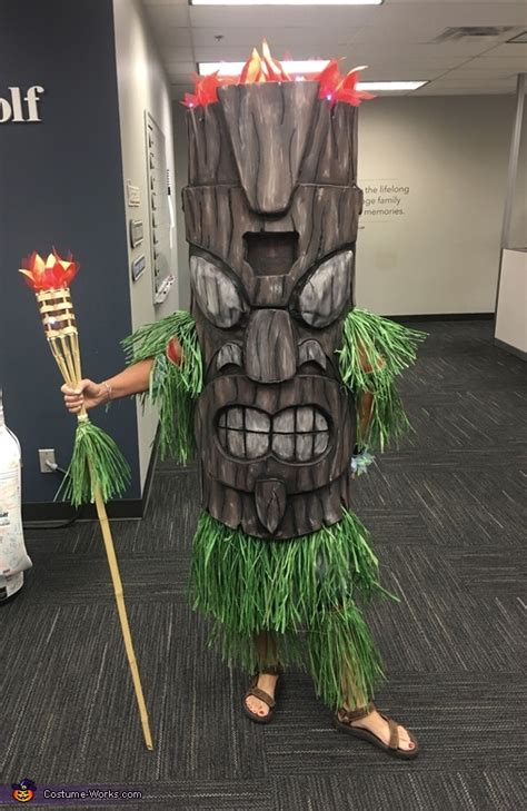 tiki god costume