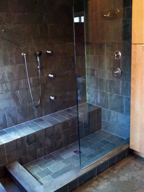 Tile Designs For Bathroom Walls by Houser Builders Bathrooms