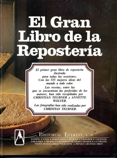 libro i am david world el gran libro de la reposteria everest libros de cocina reposteria