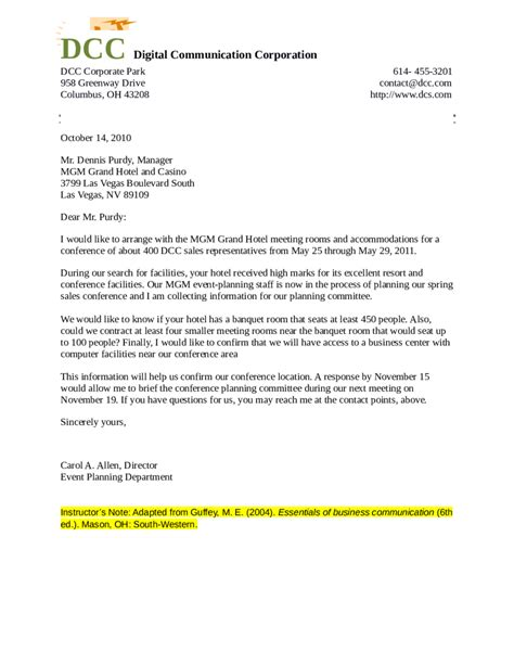 Business Letter Format With Thru sle business letter format with thru cover letter