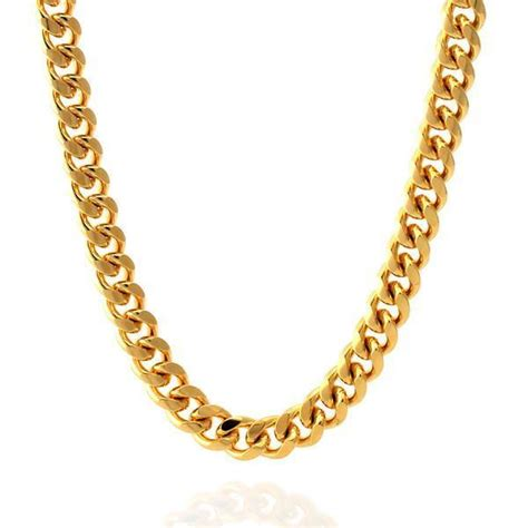 Home Design Outlet Miami 8mm 14k gold miami cuban curb chain hip hop jewelry