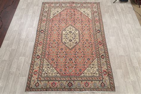 wool rugs clearance clearance geometric 7x10 ardebil tabriz area rug wool carpet ebay