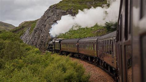 Im Auto übernachten by Jacobite Steam Der Harry Potter Zug