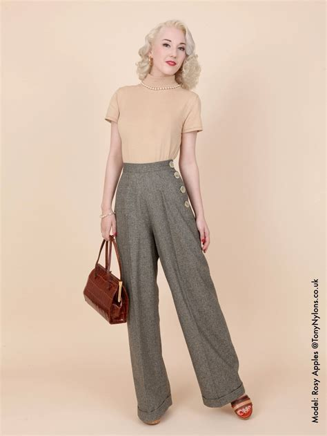 swing 1940s 1940s swing trousers from vivien of holloway