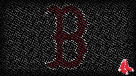 themes hd com boston red sox logo wallpapers wallpaper cave