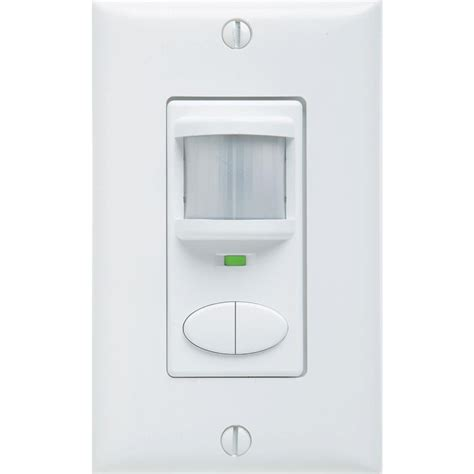 occupancy sensor light switch light switches dimmers outlets the home depot