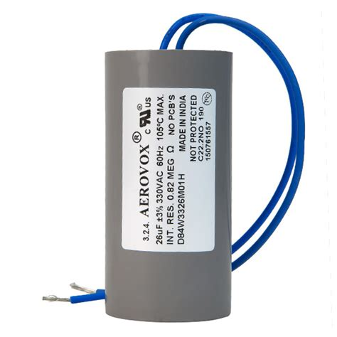 capacitor for hid ballasts hid lighting capacitor 330v aerovox d84w3326m01h