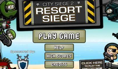 city siege 2 resort siege il gioco