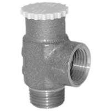 Simmons Plumbing Supply by Simmons 450 5 Relief Valve 1 2 In Cast Brass
