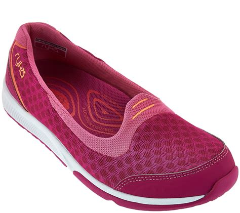 Wakai Slipon 1 ryka mesh slip on sneakers flutter page 1 qvc