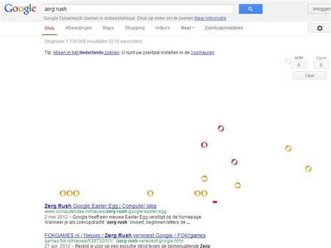 google imagenes zerg rush 10 grappige google trucjes alletop10lijstjes