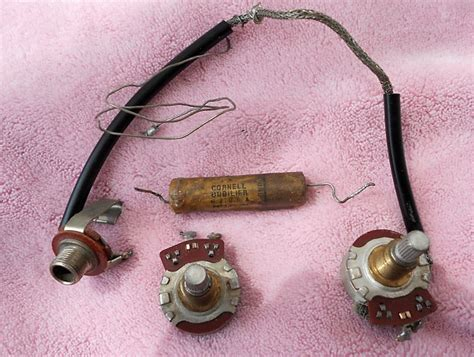 capacitor gibson les paul gibson es les paul gold top 1953 potentiometers and reverb