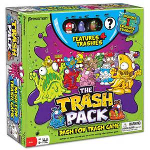 trash pack race trashies board game toys quot quot