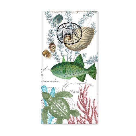 amazon com michel design works peony blossom home fragrance room sea life pocket tissues