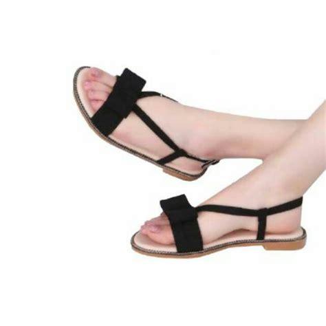 md06 sandal teplek cantik shopee indonesia