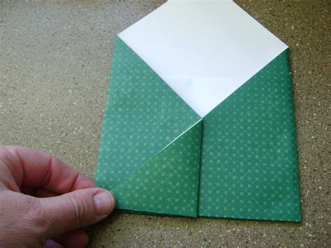 Fold Letter Paper Into Envelope - origami scenic fold paper envelope fold paper envelopes
