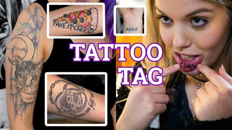 tattoo tag youtube questions tattoo tag bedeutungen stories schruppert youtube