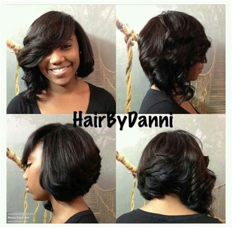 how cut one inch square bob triangular layers 32 best quick weave bob images on pinterest hairstyles