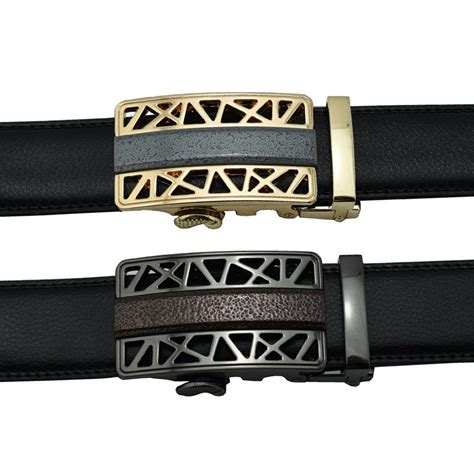 s genuine leather belt high quality western style