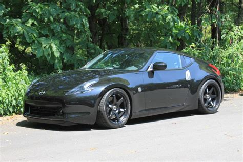 nissan 370z blacked out for sale matte black volk te 37s for sale nissan 370z