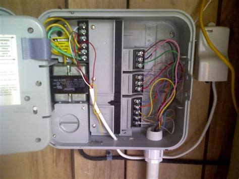 irrigation timer wiring diagram irrigation timer user