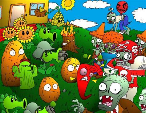 imagenes de plantas vs zombies navidad anunciado plants vs zombies 2 gamerfocus