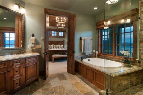 Mountain Home Bathroom Design Mountain Home Tuhaye Park City Ut