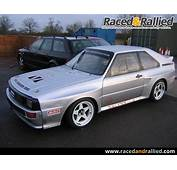 Audi Quattro  Rally Cars For Sale At Raced &amp Rallied