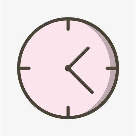 clock icon alarm schedule clock png  vector  transparent background