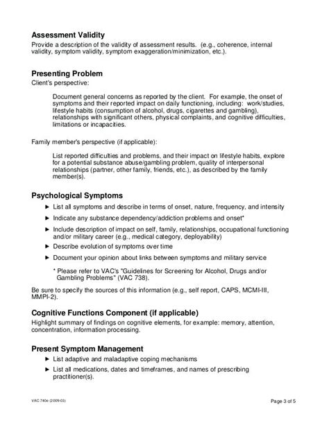Psychological Evaluation Report Template template psychological evaluation assessment report with