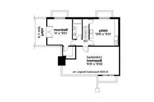 Basement Plans Bungalow House Plans Lone Rock 41 020 Associated Designs