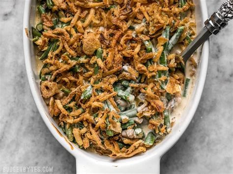creamiest green bean casserole  canned soup