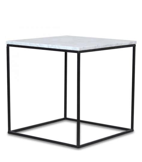 table basse metal blanc tables basses wadiga