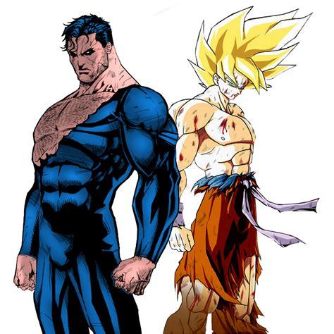 imagenes goku vs superman im 225 genes y fotos de goku vs superm 225 n
