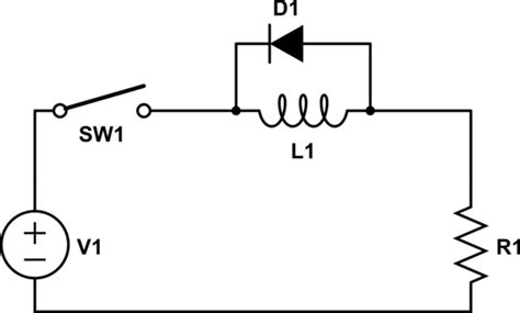 back emf from inductor electromagnetism back emf of an inductor in a dc circuit electrical engineering stack exchange