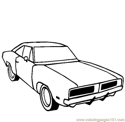 Free Coloring Pages Of General Lee General Car Coloring Pages