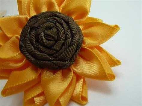 Paper Ribbon Flower - paper pleats and ribbon roses multi petalled ribbon