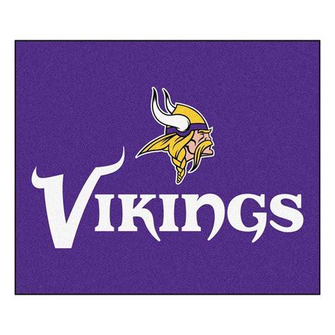 Minnesota Vikings Rugs by Fanmats Minnesota Vikings 5 Ft X 6 Ft Tailgater Rug 5765