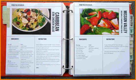 cookbooks template free cookbook templates authorization letter pdf