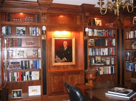 design ideas custom home libraries in this era a popular