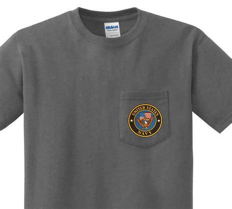 design a shirt with pocket pocket t shirt men s us navy design front pocket tee for