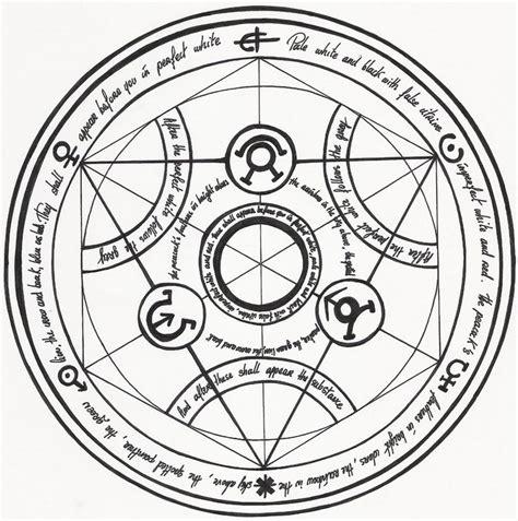 transmutation circle tattoo 25 best ideas about alchemy on alchemy
