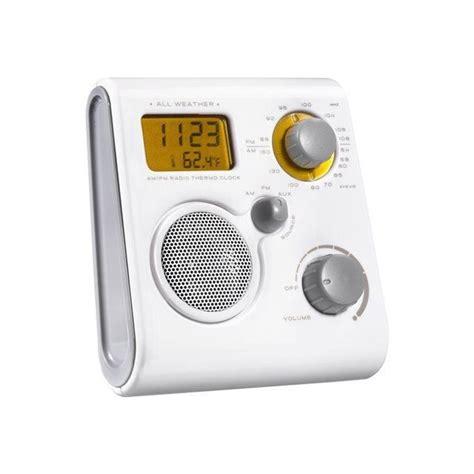Radio Salle De Bain by Akai Awp10we Radio Salle De Bains Fm Am Aux Alarme Radio