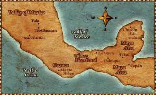 Valley Of Mexico Map ancient american world mary e lyons