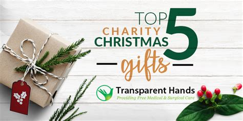 detroit charities christmas gifts 2018 top 5 charity gifts transparent