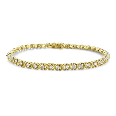 Yellow Gold Diamond Tennis Bracelets   www.pixshark.com   Images Galleries With A Bite!