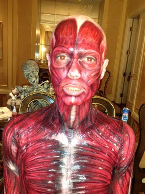 heidi klum s gory halloween costume photos video