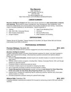 data analysis business analyst resume sample - Sample Data Analyst Resume